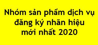 Nhom San Pham Dich Vu Khi Dang Ky Nhan Hieu