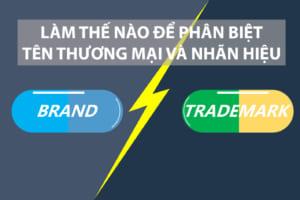 Cách phân biệt tên thương mại và nhãn hiệu