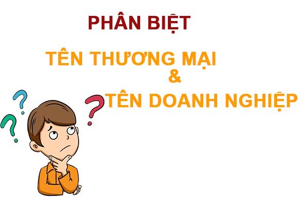 Phan Biet Ten Thuong Mai Va Ten Doanh Nghiep