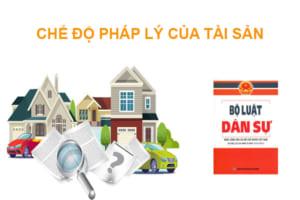 Che Do Phap Ly Cua Tai San