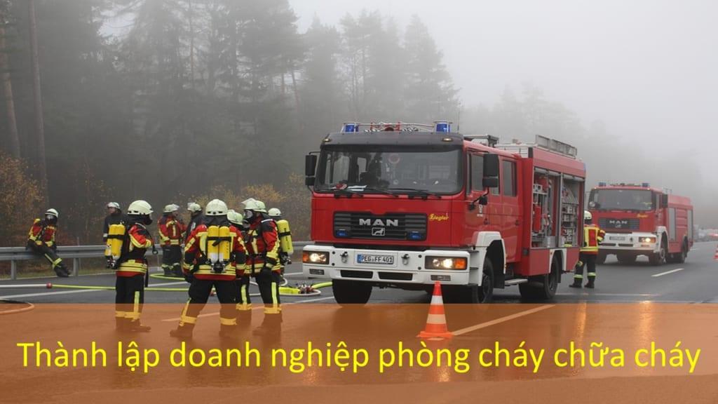 Thanh Lap Doanh Nghiep Phong Chay Chua Chay