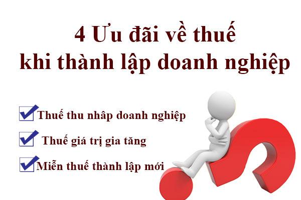 04 Uu Dai Ve Thue Khi Thanh Lap Cong Ty Moi