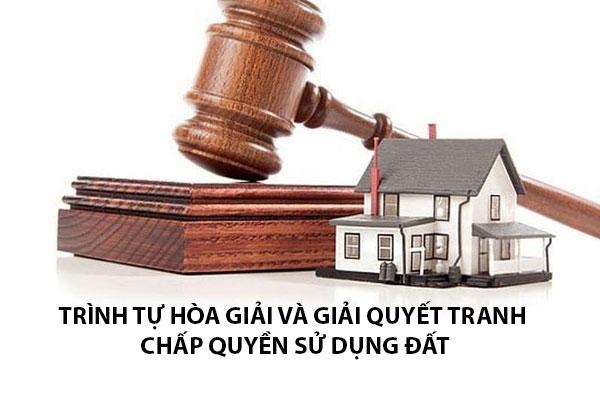 Trinh Tu Hoa Giai Va Giai Quyet Tranh Chap Quyen Su Dung Dat