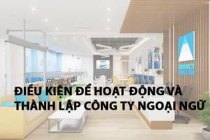 Dieu Kien Thanh Lap Va Hoat Dong Trung Tam Ngoai Ngu