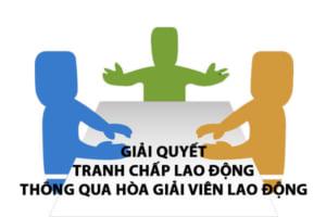 Giai Quyet Tranh Chap Lao Dong Thong Qua Hoa Giai Vien Lao Dong